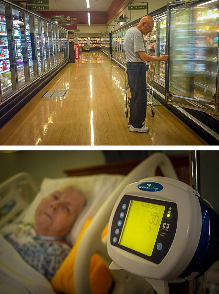 8pm – Picking up Some Groceries 2006/2016